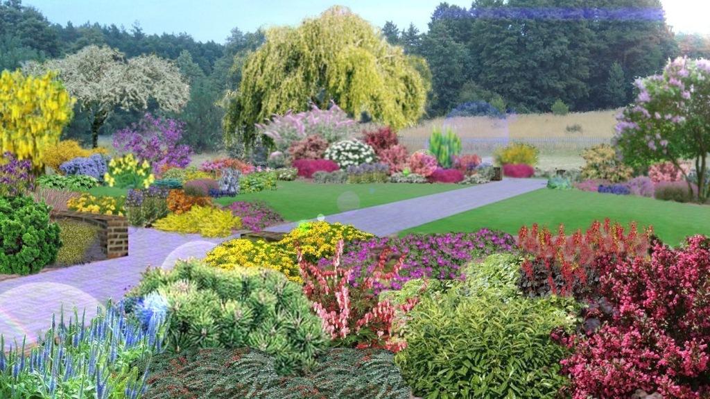 wizualizacja ogrodu sensualnego osmolice_a